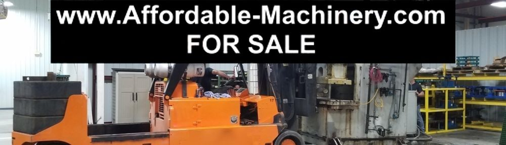 150 Ton Capacity Pacific Hydraulic Press For Sale | Call 616