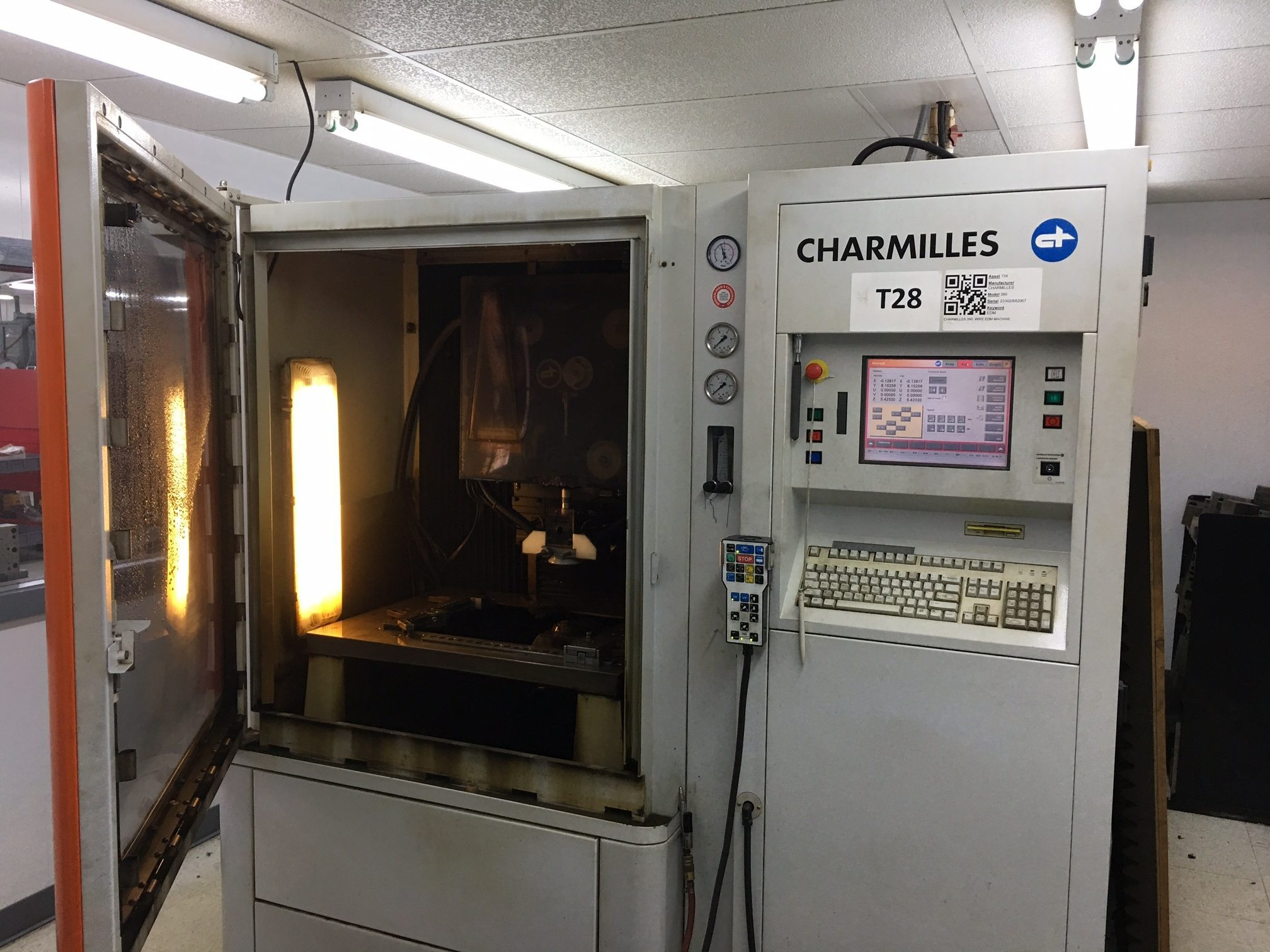 Charmilles 390 EDM Wire Cutting Machine For Sale | Call 616-200 ...