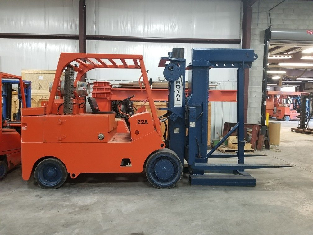 22,000lb. Capacity Royal Forklift For Sale 10+ Ton