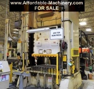 400 Ton Capacity Heim Straight Side Press For Sale