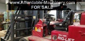 80,000lb100,000lb Royal Rig-Lift Forklift For Sale