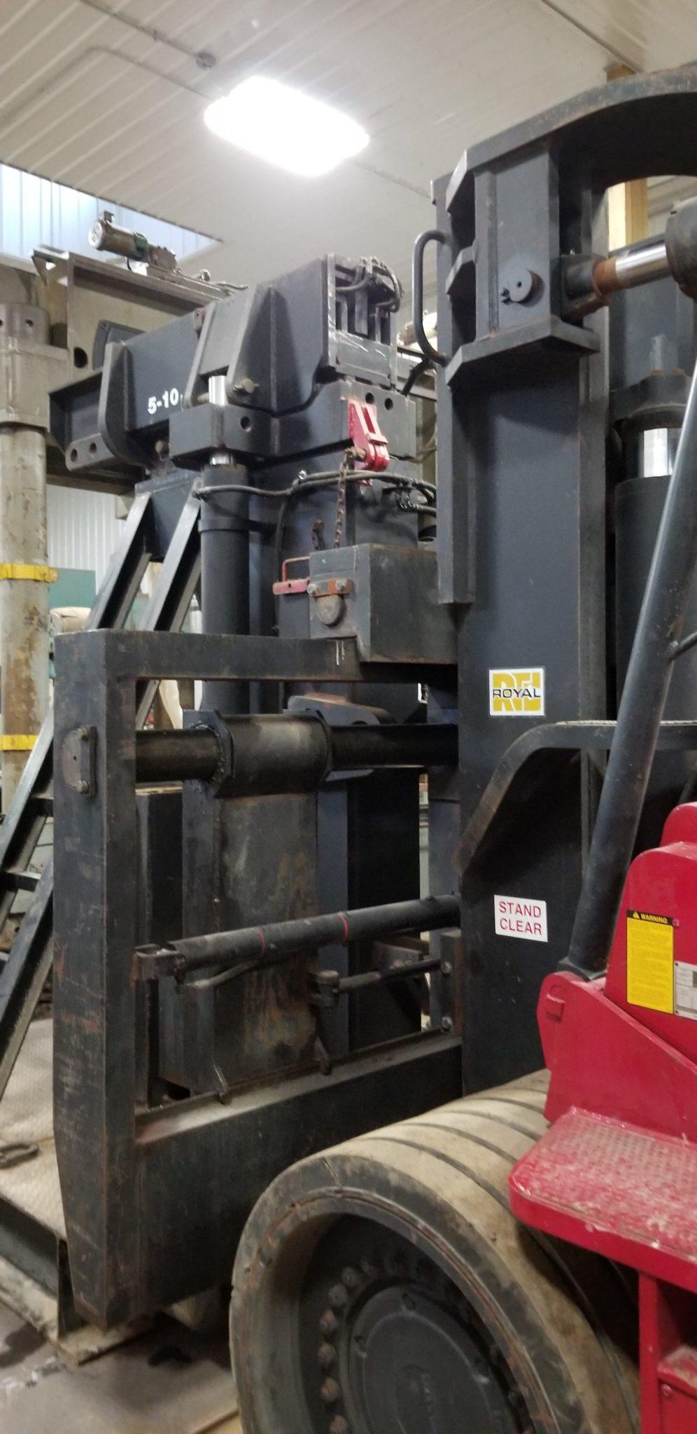 80 000lb To 100 000lb Royal Rig Lift Forklift For Sale