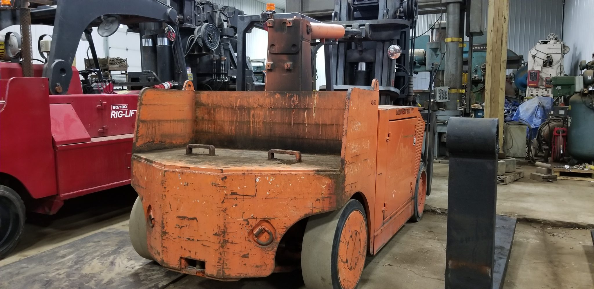 Versa Lift 4060 Forklift For Sale 40 000lb 60 000lb Machinery Business Information