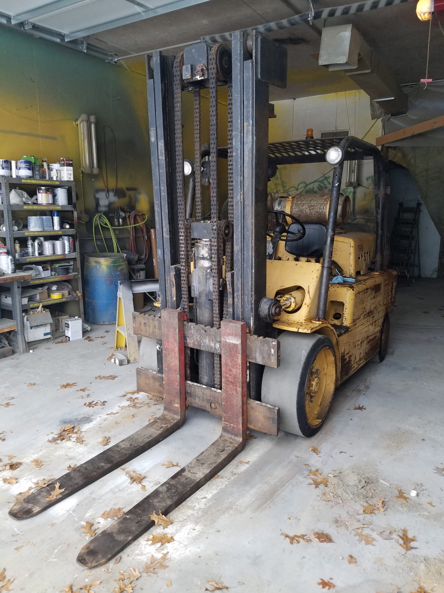 15,000lb. Capacity Hyster S150 Forklift For Sale 7.5 Ton