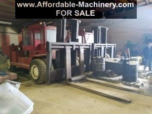 80,000lb. Capacity Forklifts For Sale (Two Available)