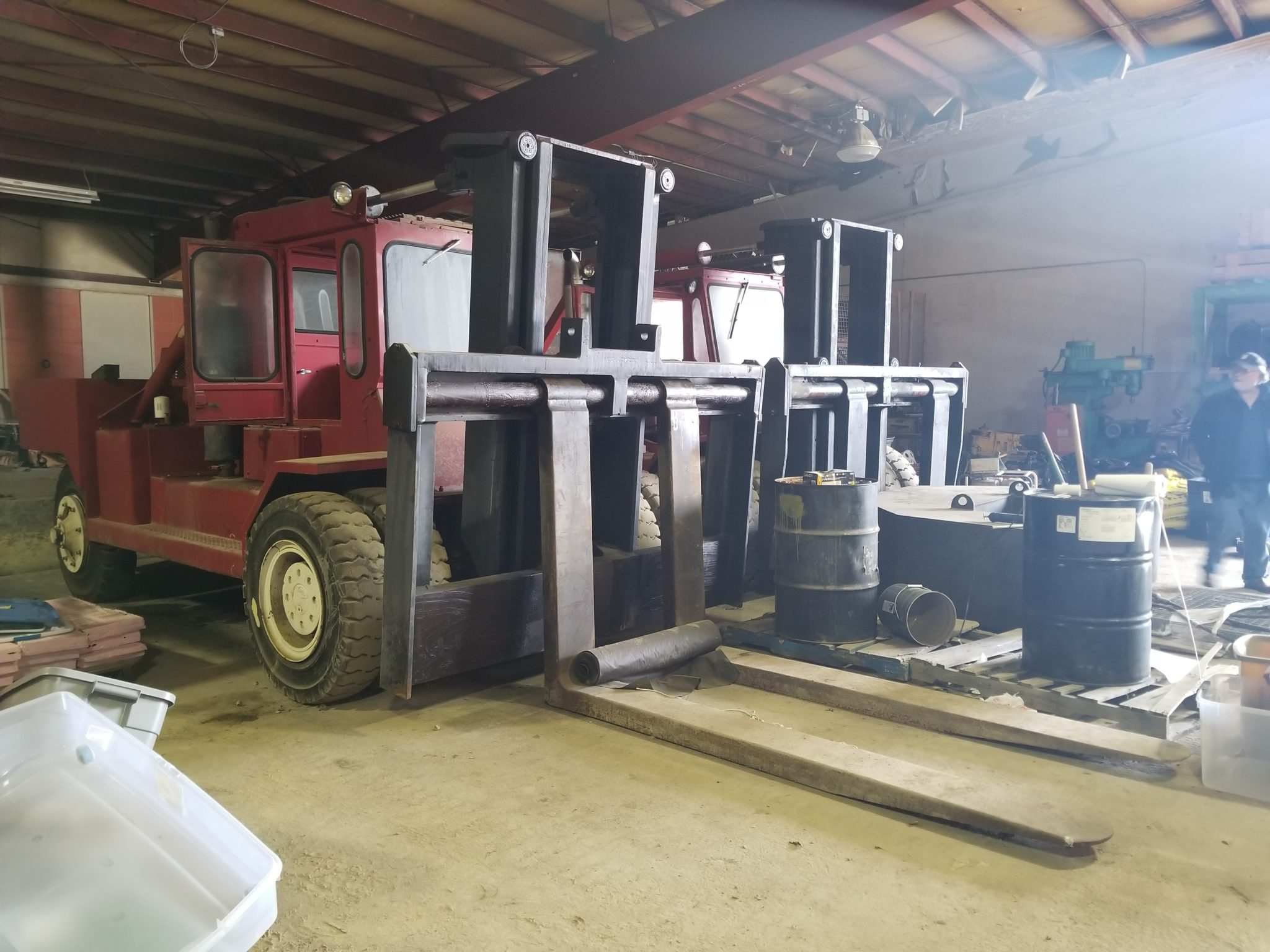 80,000lb. Capacity Forklifts For Sale (Two Available) 40 Ton