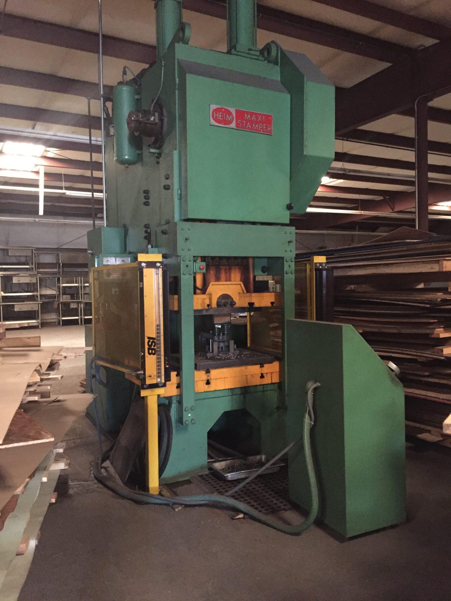 300 Ton Capacity Heim Gap Frame Press For Sale