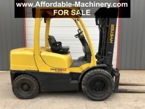 8,000lb. Capacity Hyster Forklift For Sale 4 Ton