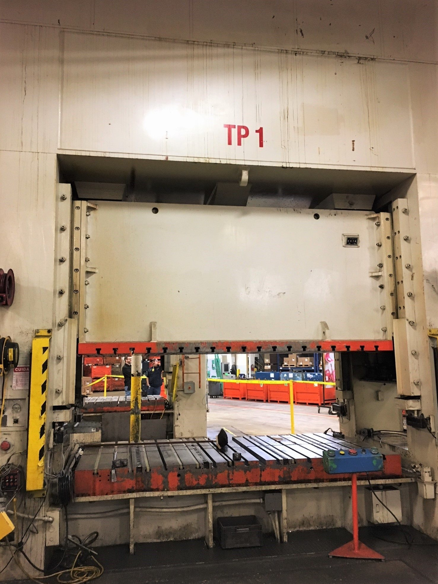 550 Ton Capacity Seyi Straight Side Press For Sale