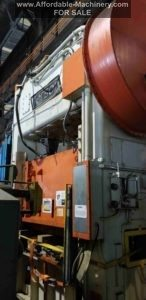 150 Ton Capacity Verson Straight Side Press For Sale