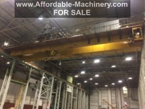 100/35 Ton Capacity Shawbox-Dresser Overhead Bridge Crane For Sale