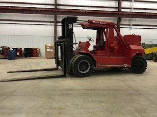 80,000lb. Capacity Bristol Riggers Special Forklift For Sale 40 Ton