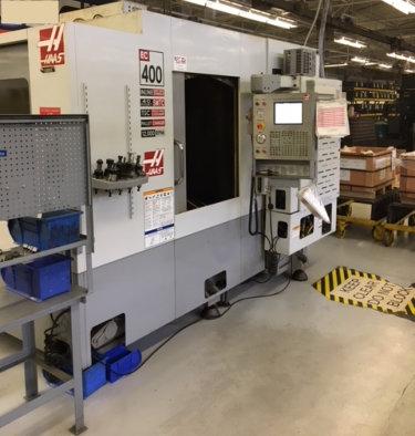 Haas EC-400 CNC Horizontal Mill Machining Center For Sale   Call 616