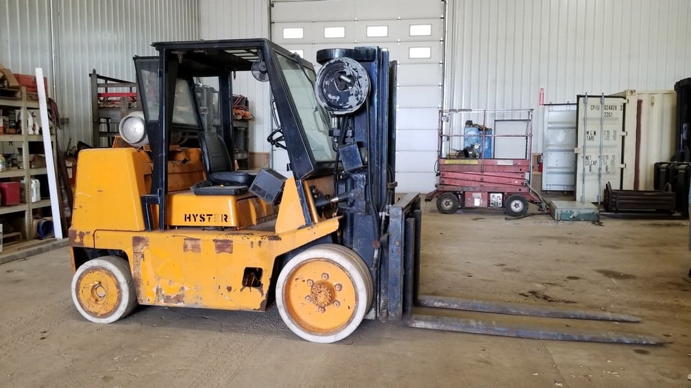 15,500 lbs Capacity Hyster Forklift For Sale 7.75 Ton