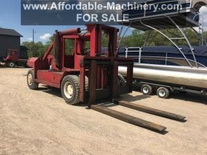 80,000 lb. Capacity Bristol Forklift - Low Base Weight - For Sale