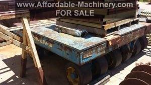 95,000 lb. Capacity Die Cart For Sale