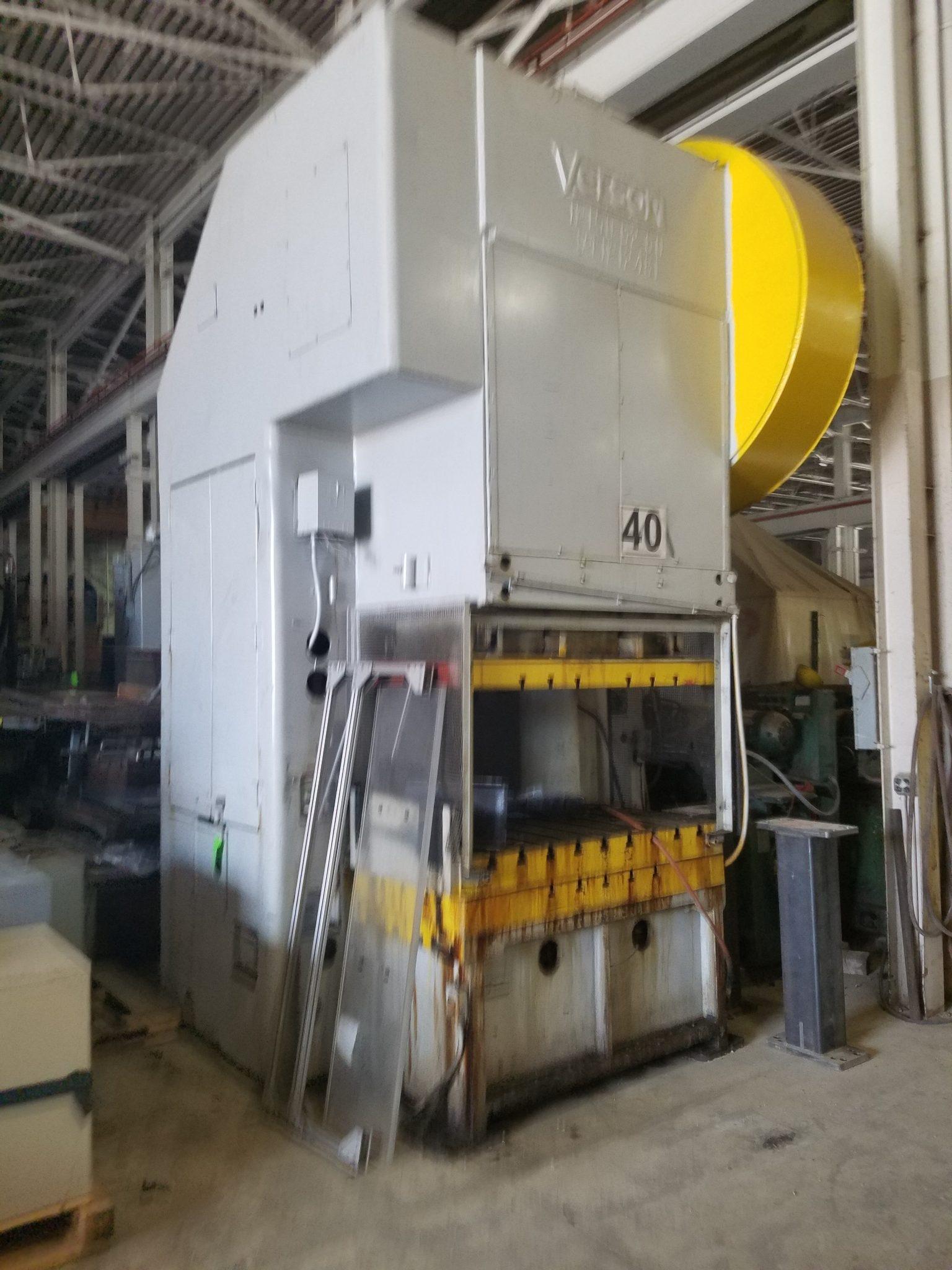 150 Ton Capacity Verson Gap-Frame Press For Sale