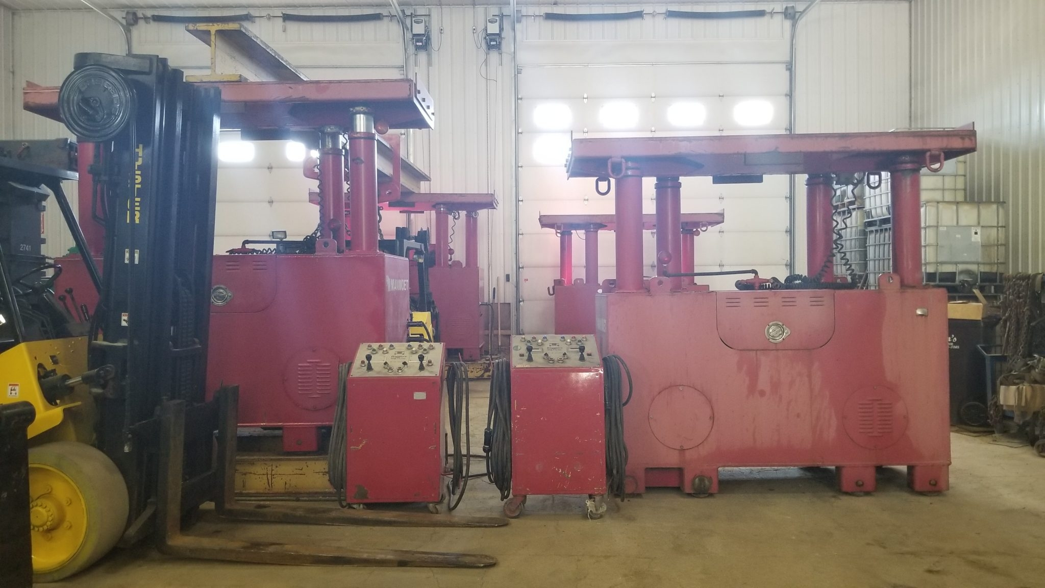 200 Ton Capacity Riggers Manufacturing Gantry For Sale