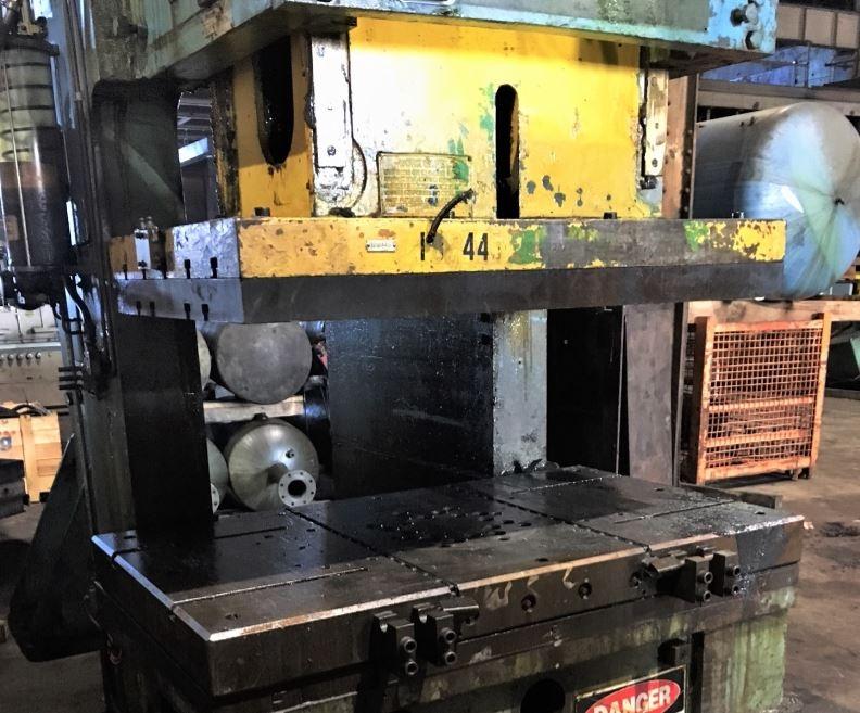 250 Ton Capacity Verson Single-Point Gap-Frame Press For Sale