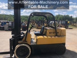 15,000 lb. Capacity Hyster Forklift For Sale 7.5 Ton