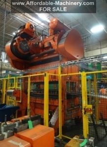 200 Ton USI Clearing Straight-Side Press For Sale