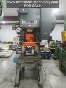 60 Ton Capacity Minster OBI Press For Sale