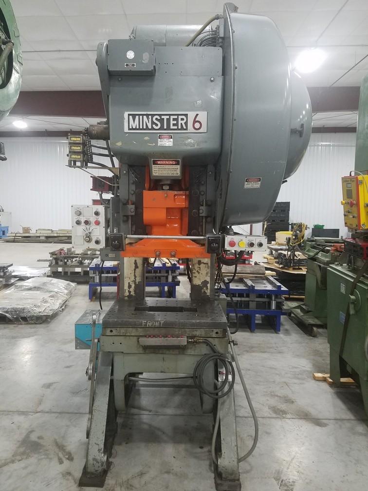 60 Ton Capacity Minster OBI Press For Sale