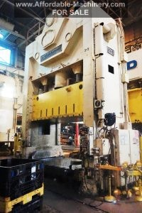 600 Ton Capacity USI Clearing Press