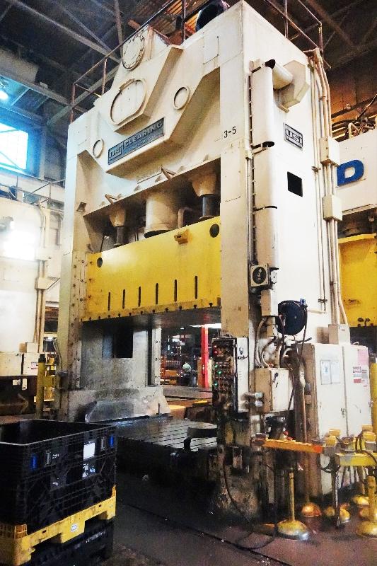 600 Ton Capacity USI Clearing Press