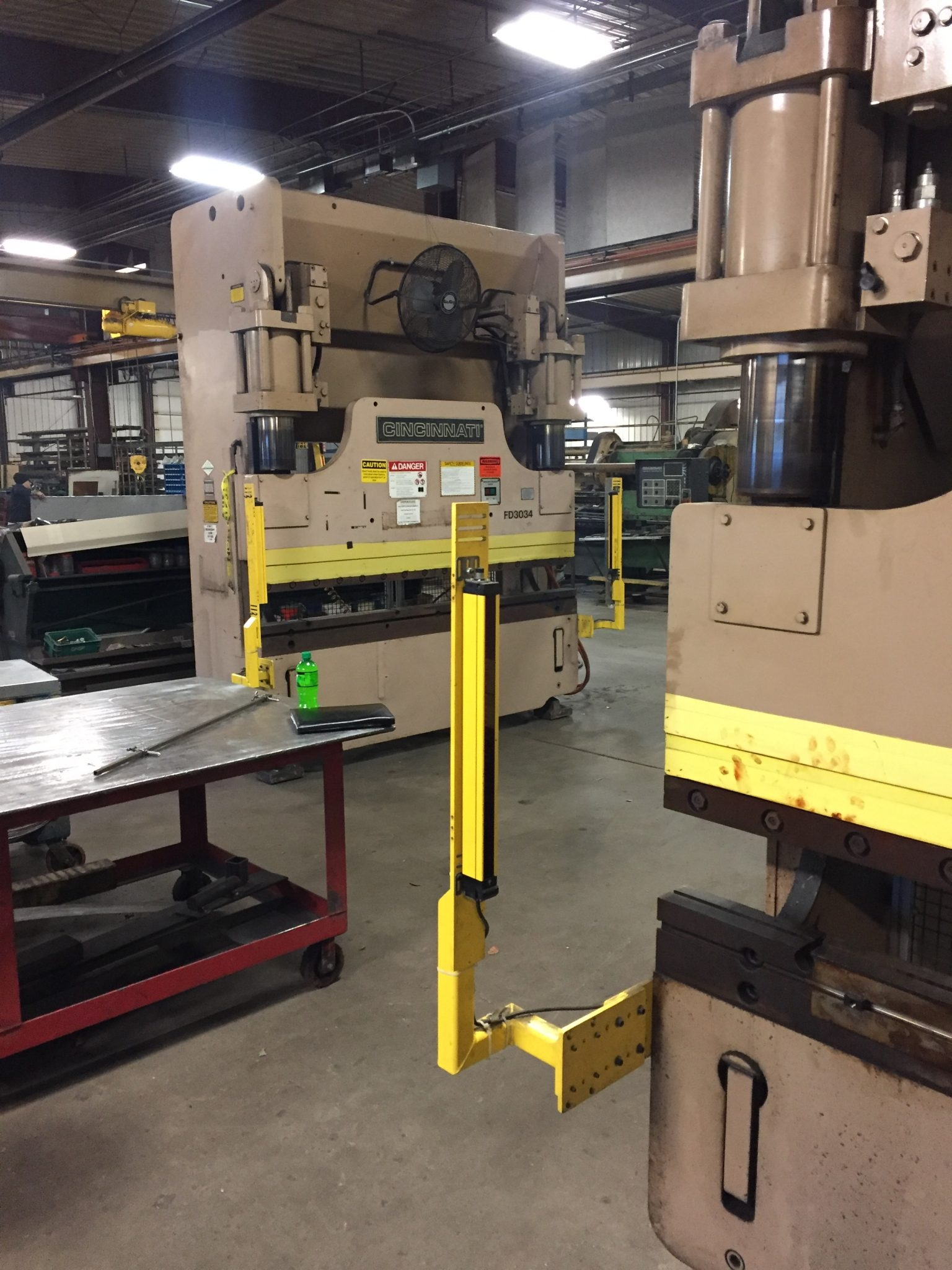 135 Ton Cincinnati Press Brake For Sale 8' Overall | Call