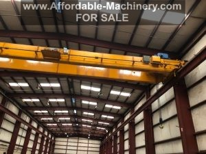 25 Ton Anchor and Hoist Bridge Crane with Shawbox Hoist For Sale