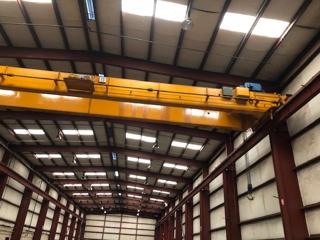 25 Ton Anchor and Hoist Bridge Crane with Shawbox Hoist For Sale