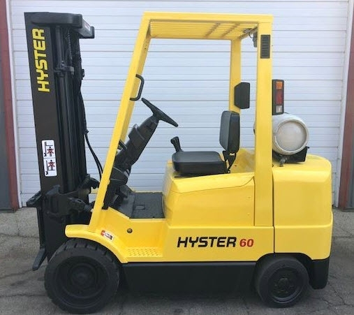 6000lb Hyster Forklift For Sale - 3 Ton
