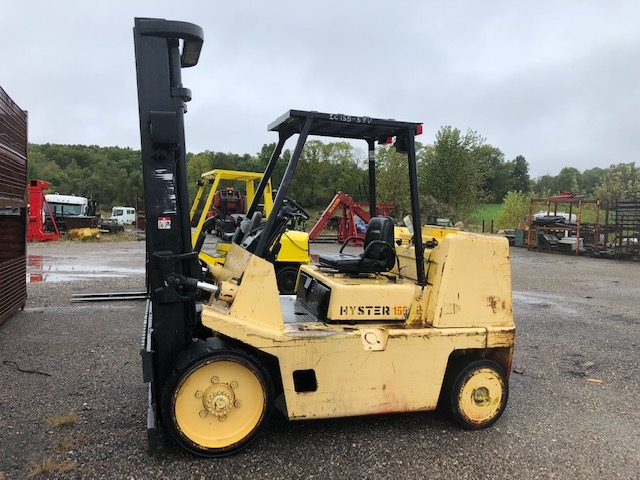 15,500 lb. Capacity Hyster Forklift For Sale 7.75 Ton