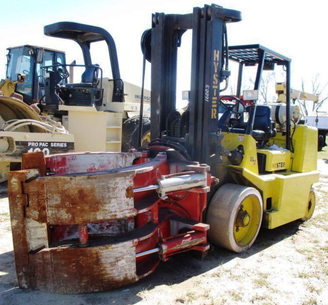 15500lb Hyster S155XL Forklift For Sale 17.75 Ton
