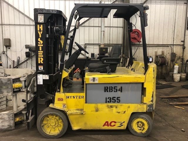 8000lb Hyster EZ80Z Electric Forklift For Sale