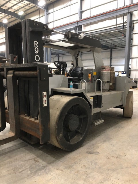 90,000lb R90 Rigger Lift Forklift For Sale 45 Ton