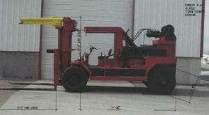 41,000 lb. Capacity Taylor Forklift For Sale - 20+ Ton