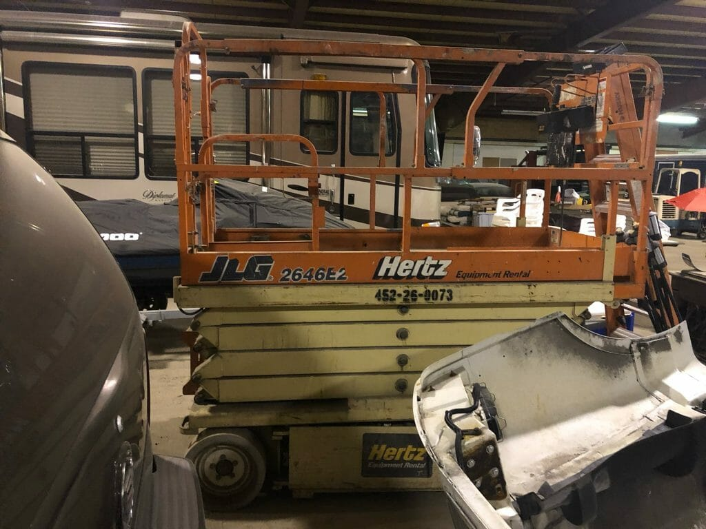 26' Electric Scissor Lift For Sale | Call 616-200