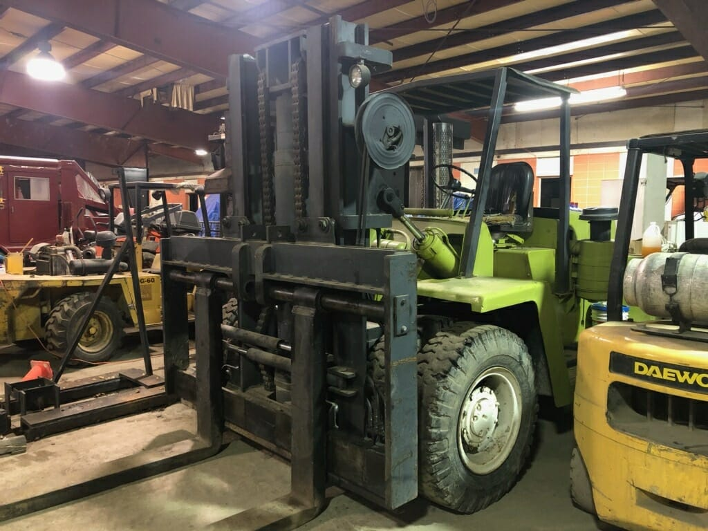 30,000 lb  Capacity Clark Forklift For Sale | Call 616-200