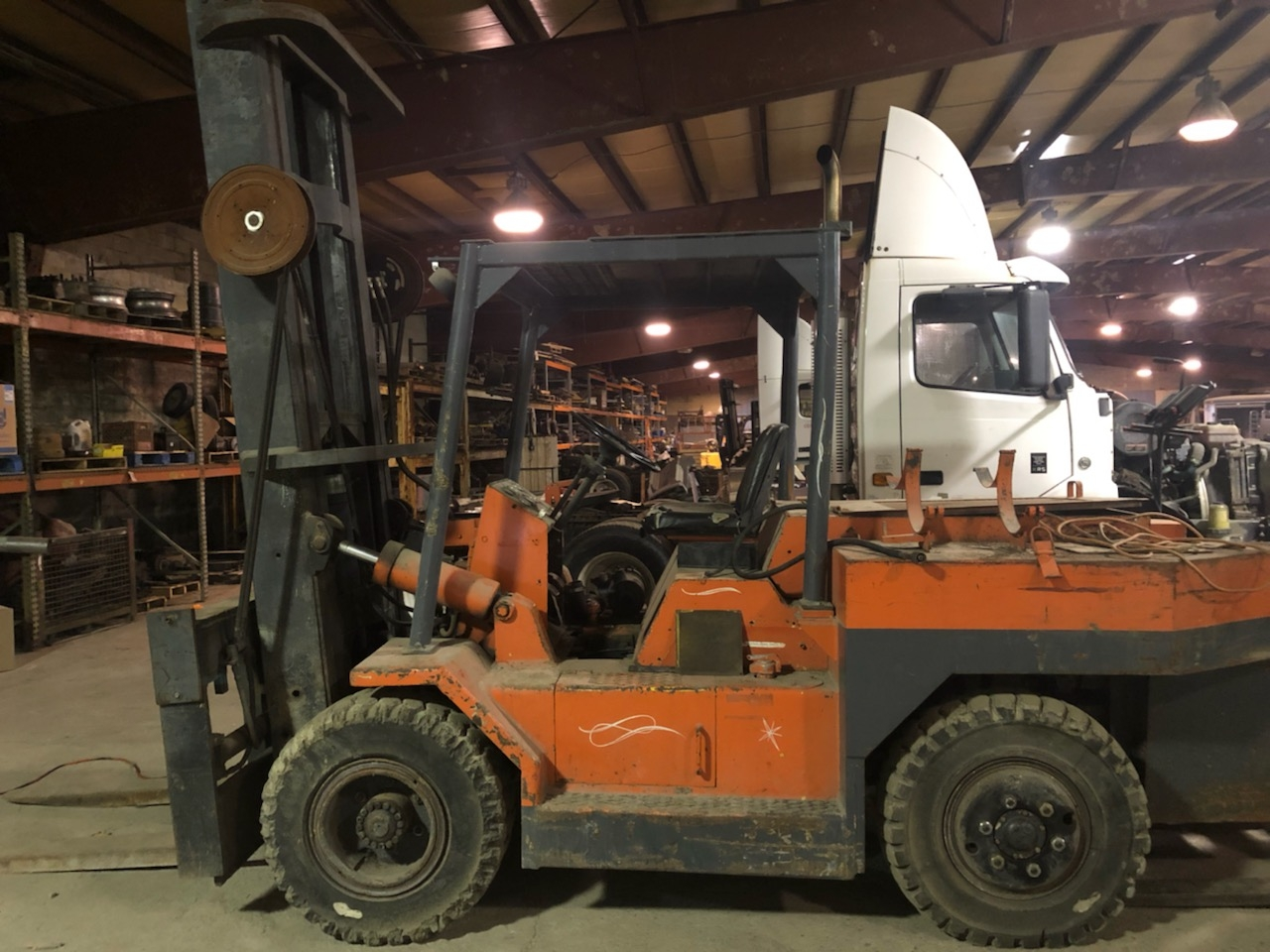 30,000 lb. Capacity Mini Riggers Forklift For Sale 15 Ton