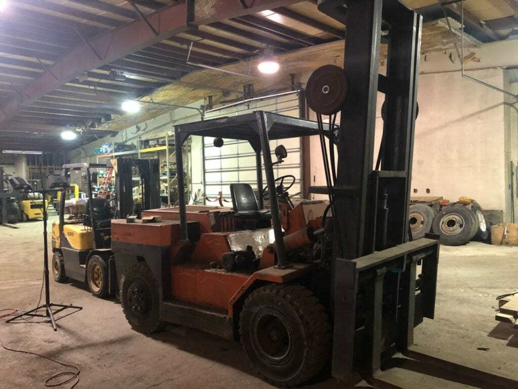 Riggers Special Forklift For Sale Affordable Machineryaffordable Machinery