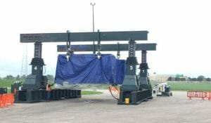 600 Ton Capacity J & R Engineering Lift -n- Lock Gantry