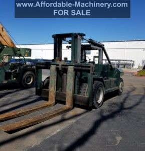80,000lb RS80 Riggers Special Forklift For Sale 40 Ton