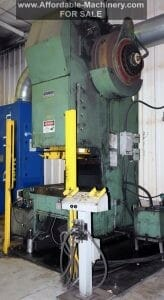 160 Ton Stanko Gap Frame Press For Sale