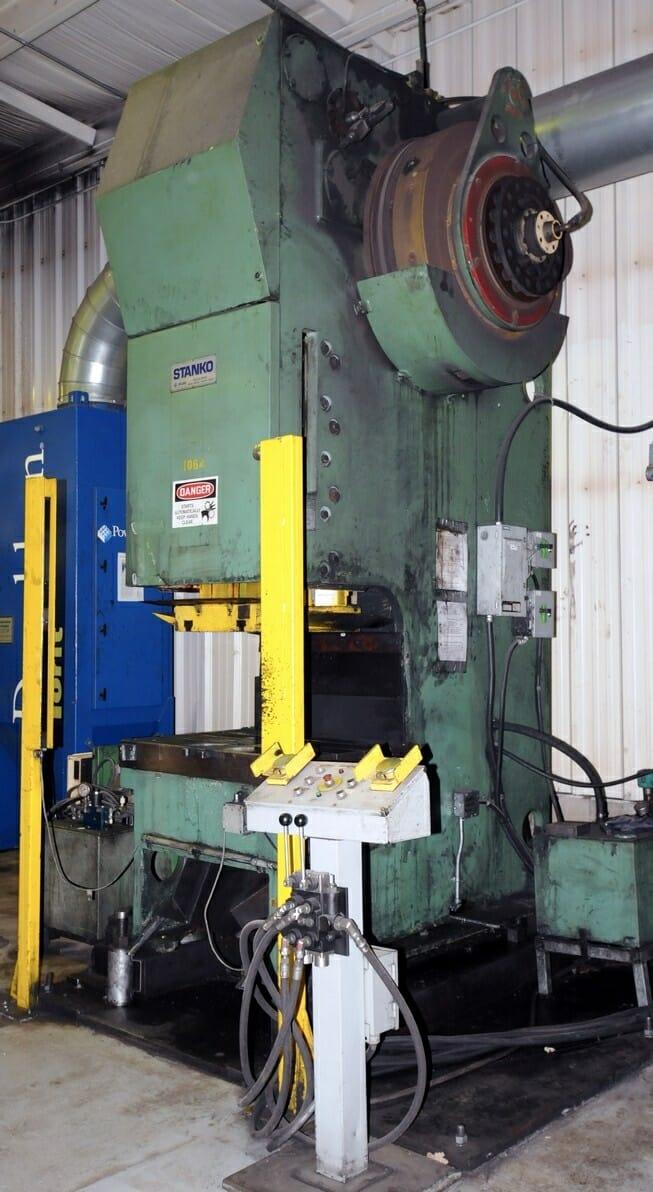 160 Ton Stanko Gap Frame Press For Sale