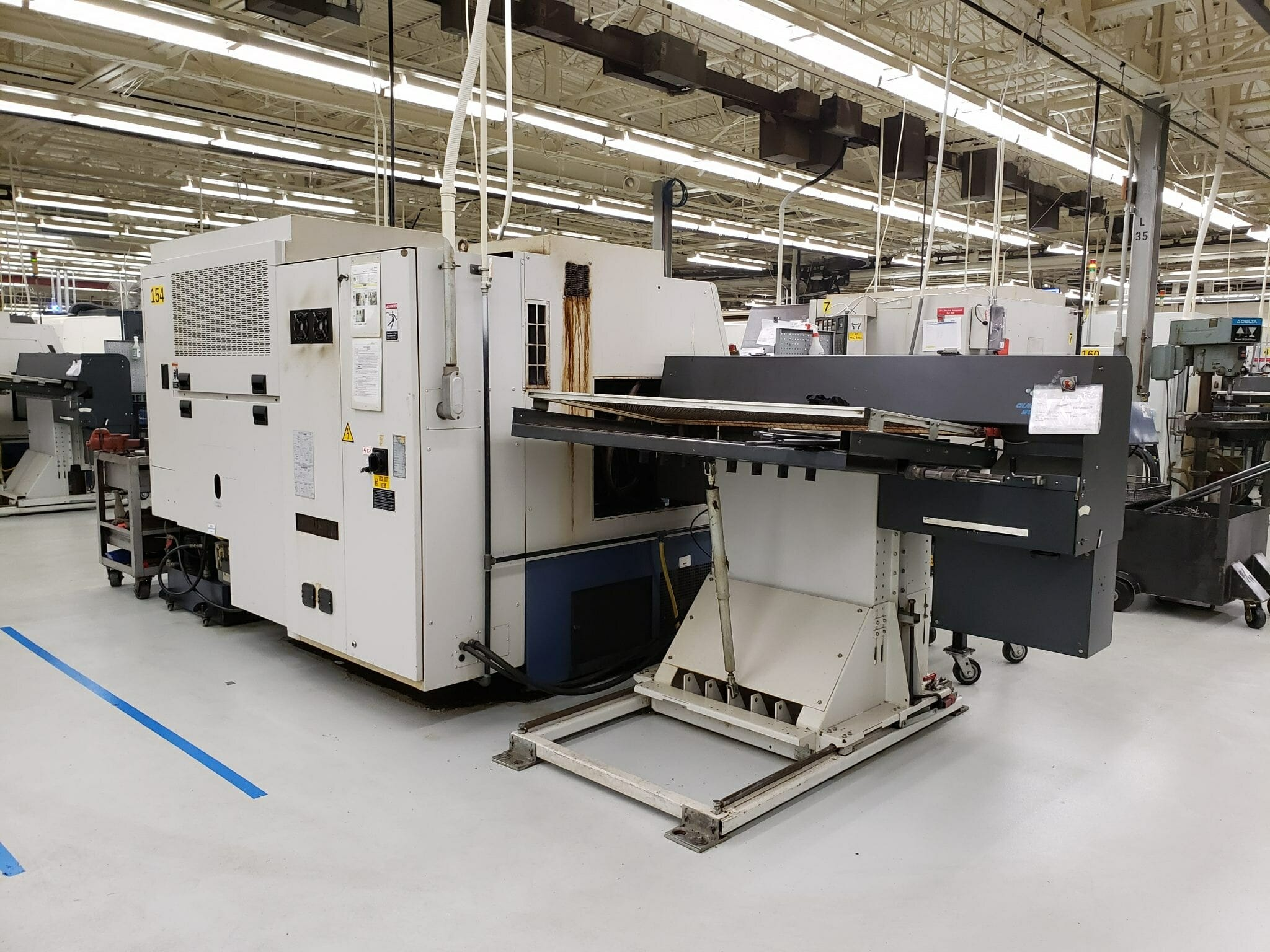 Mori Seiki ZL150 CNC Lathe For Sale