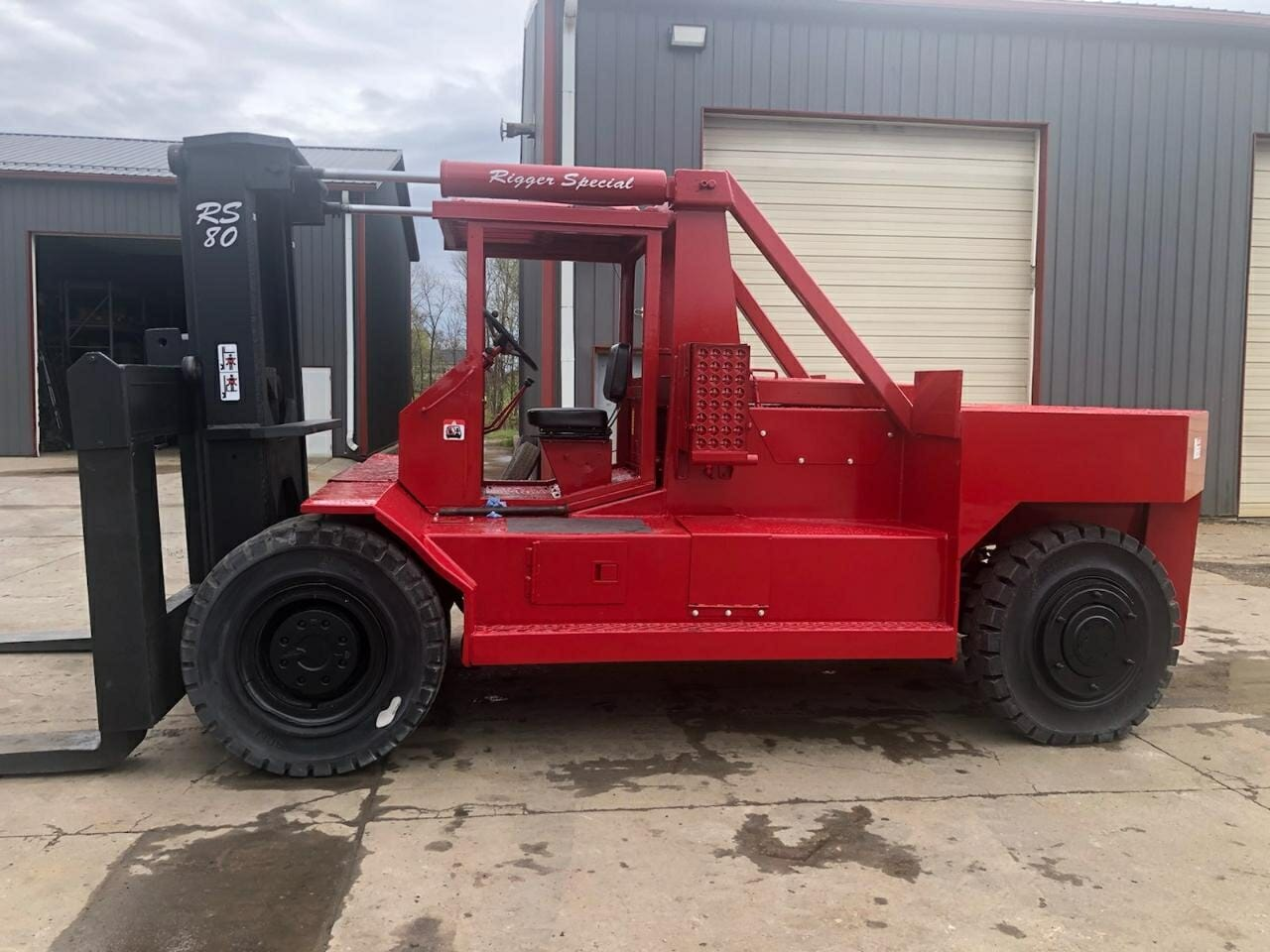 80000lb Rigger Forklift For Sale