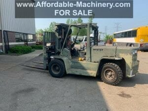 15,500 lb Capacity Hyster H155XL Forklift For Sale 7.75 Ton