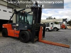 36,000 lb Capacity Toyota THD3600-48 Forklift For Sale